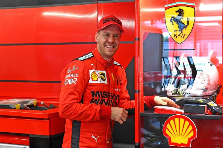 F1 | ベッテル、フェラーリSF1000に好感触「ダウンフォース向上を感じる」