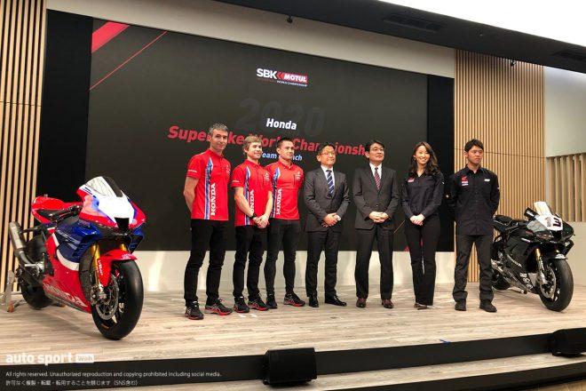 MotoGP | SBK:ワークス体制復活のホンダが新型CBRのカラーリング発表。高橋巧の僚友はジョルディ・トーレスに決定