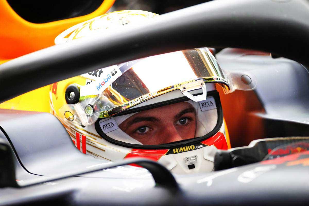 2020年F1第1回バルセロナテスト3日目 マックス・フェルスタッペン(レッドブル・ホンダ)