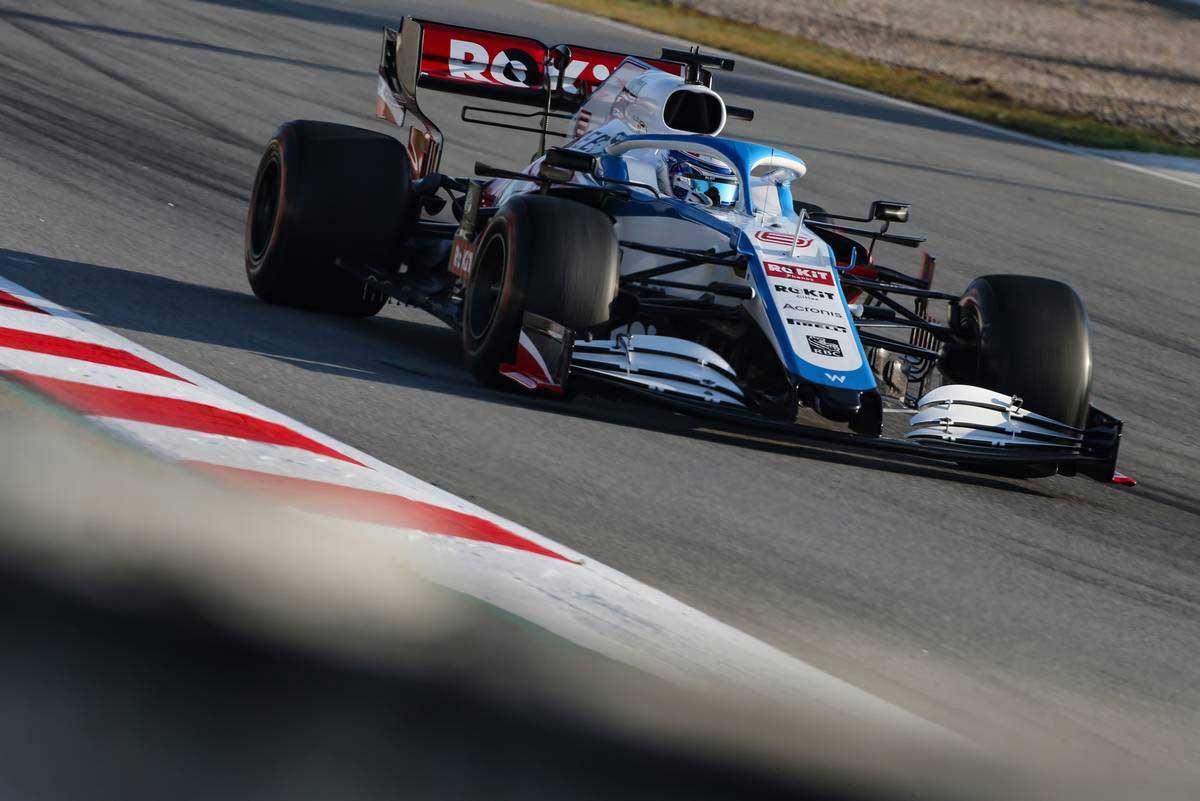 2020年F1第1回バルセロナテスト3日目 ニコラス・ラティフィ(ウイリアムズ)