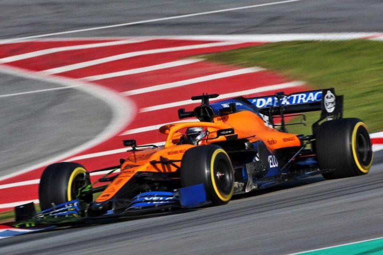 F1   「この数年で最高のスタート」マクラーレンF1、バルセロナテストはMCL35の信頼性の高さに満足
