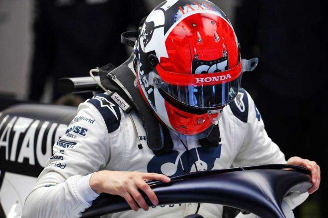 2020年F1第1回バルセロナテスト3日目 ダニール・クビアト(アルファタウリ・ホンダ)