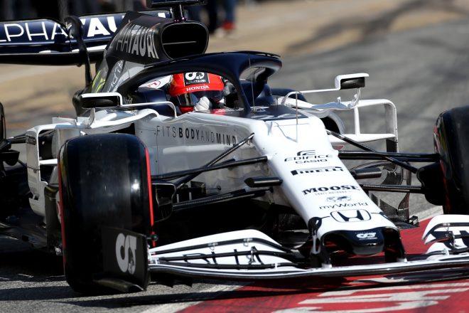 2020年第1回F1プレシーズンテスト3日目:ダニール・クビアト(アルファタウリ・ホンダ)