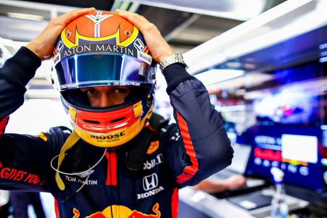 2020年第1回F1プレシーズンテスト3日目:アレクサンダー・アルボン(レッドブルRB16・ホンダ)
