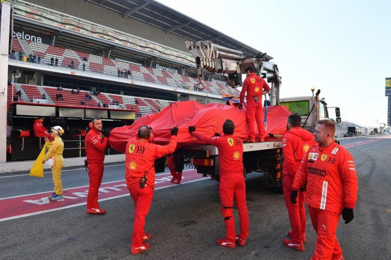 F1 | F1テスト1最終日に赤旗4回。メルセデスは昨年のPPタイムに迫る1分15秒台、フェラーリにPUトラブル
