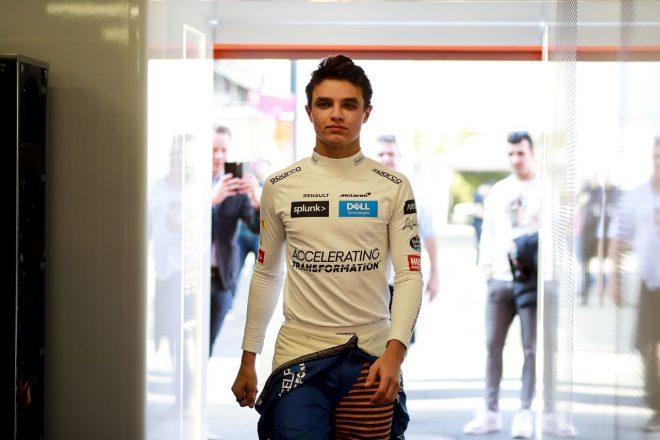 2020年第1回F1プレシーズンテスト3日目:ランド・ノリス(マクラーレン)