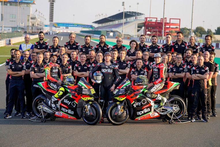 MotoGP | MotoGP:アプリリア、RS-GPをカタールでアンベイル。大型改良された2020年型で表彰台狙う