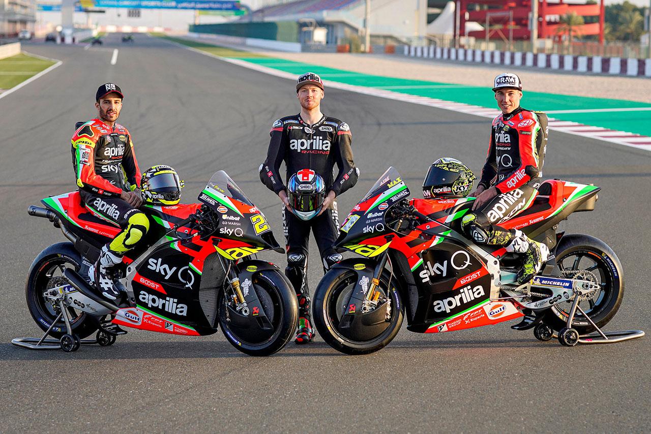 MotoGP | アプリリア・レーシング・チーム・グレシーニ 2020年
