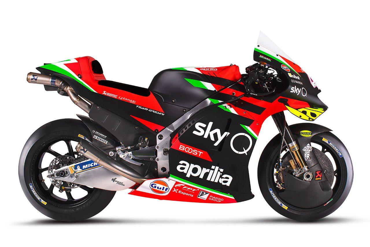 MotoGP:アプリリア・レーシング・チーム・グレシーニの2020年型マシン『RS-GP』