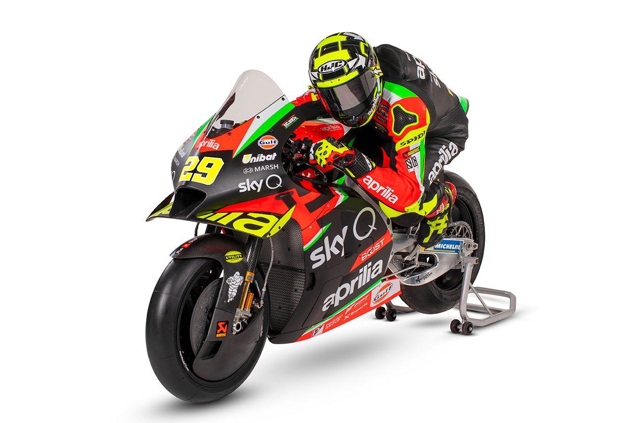 2020年MotoGP:アンドレア・イアンノーネ(アプリリア・レーシング・チーム・グレシーニ)