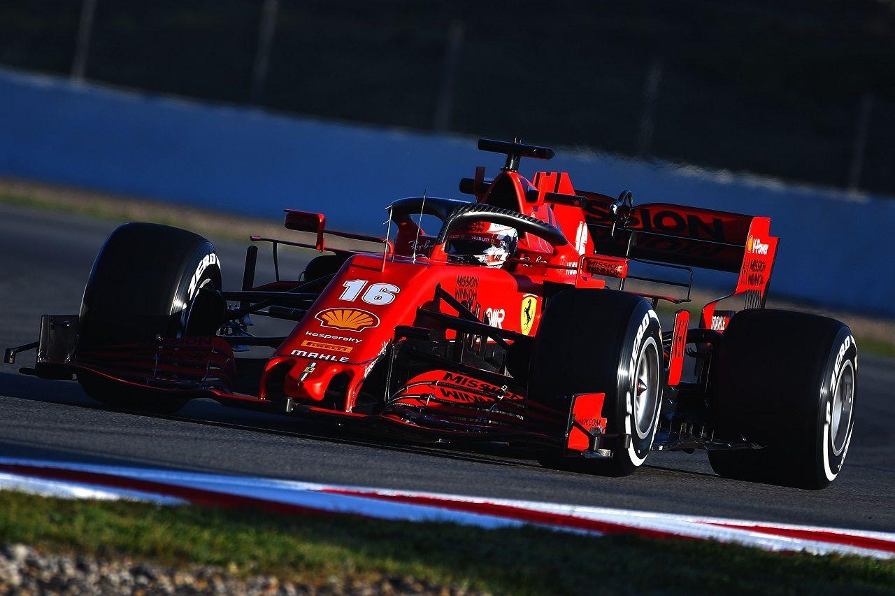 2020年第1回F1プレシーズンテスト2日目:シャルル・ルクレール(フェラーリ)