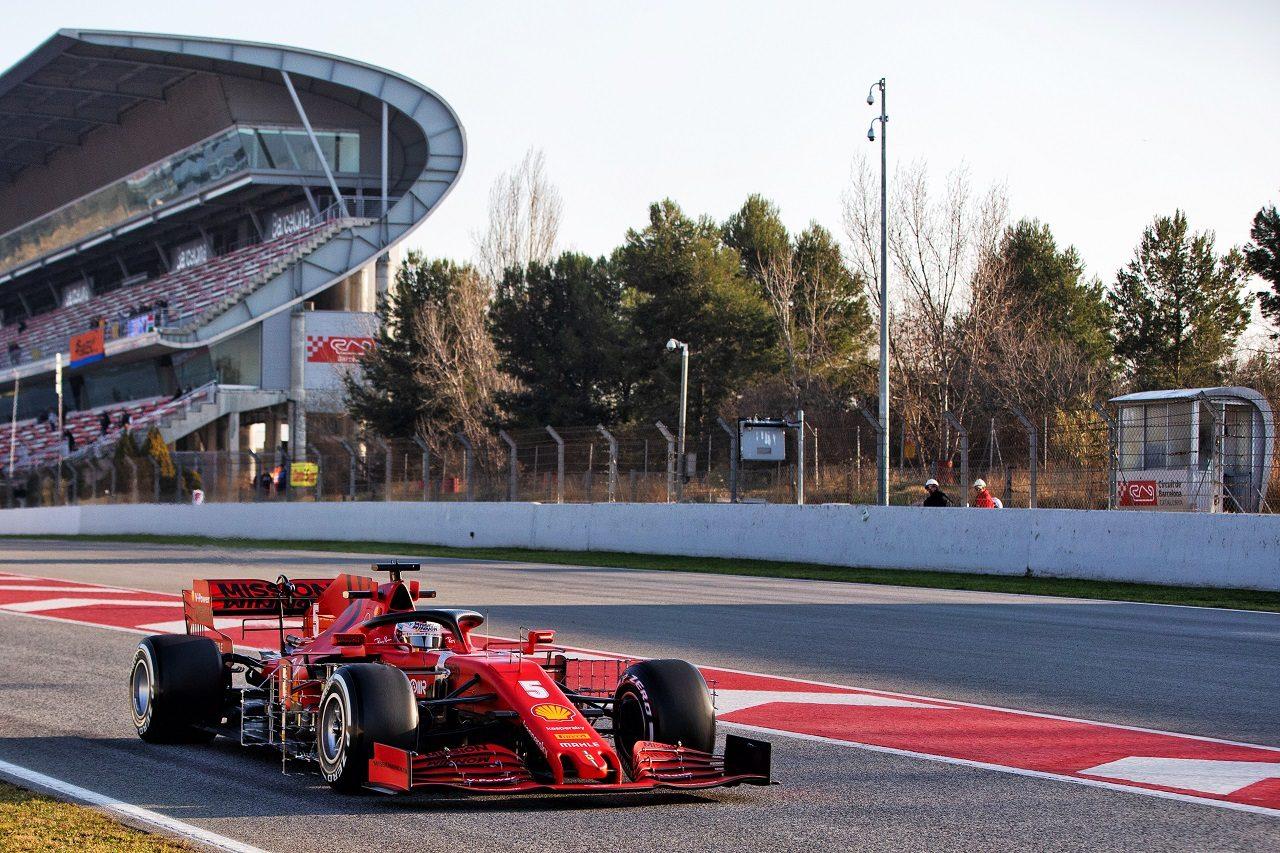2020年第1回F1プレシーズンテスト3日目:セバスチャン・ベッテル(フェラーリ)