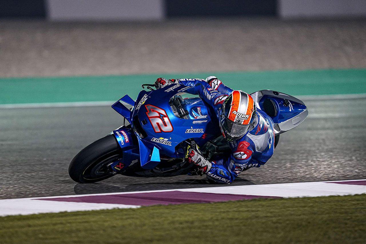 MotoGP:カタール公式テスト初日、スズキのリンスとミルがトップ2進出