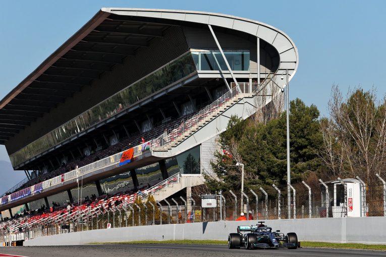 F1 | 【第1回F1バルセロナテスト:3日間総合タイム結果】メルセデスが1-2。ホンダ勢最上位はアルファタウリのクビアト
