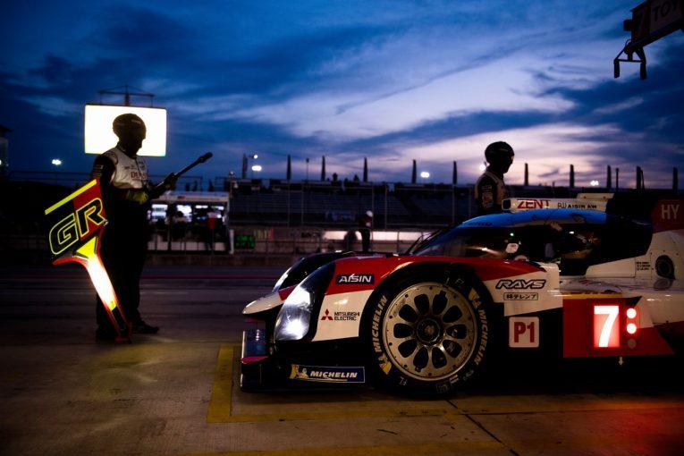 ル・マン/WEC | WECオースティン:トヨタ、最大ハンデの7号車が予選最前列。8号車は「タイヤを温めきれず」3番手