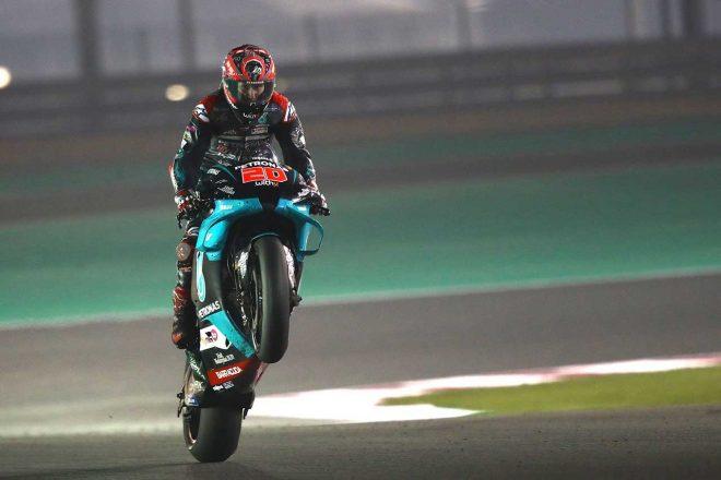 MotoGP | MotoGP:カタール公式テスト2日目のトップはクアルタラロ。マルケス兄は転倒喫し14番手で終える