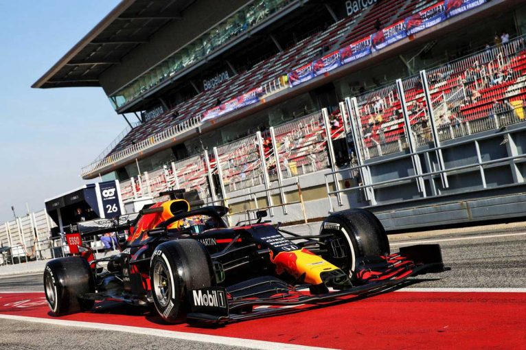 F1 | 【ホンダ密着】レースシミュレーションを1日2回。万全の備えで次のテストへ/第1回F1バルセロナテスト3日目