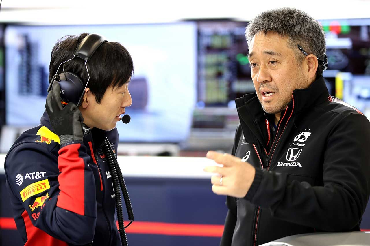2020年F1第1回バルセロナテスト1日目 ホンダF1山本雅史マネージングディレクター