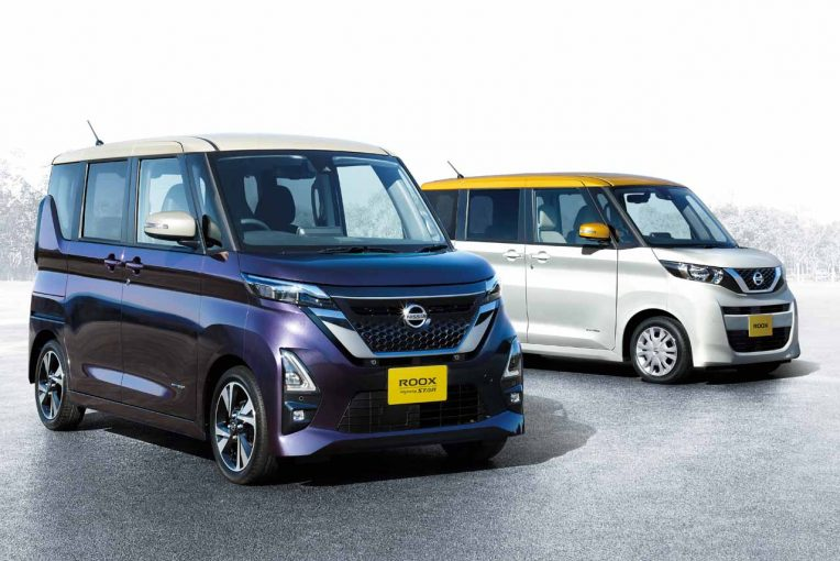 クルマ | ニッサン、広い室内と便利な使い勝手を備える新型軽自動車『ルークス』発表。3月19日発売