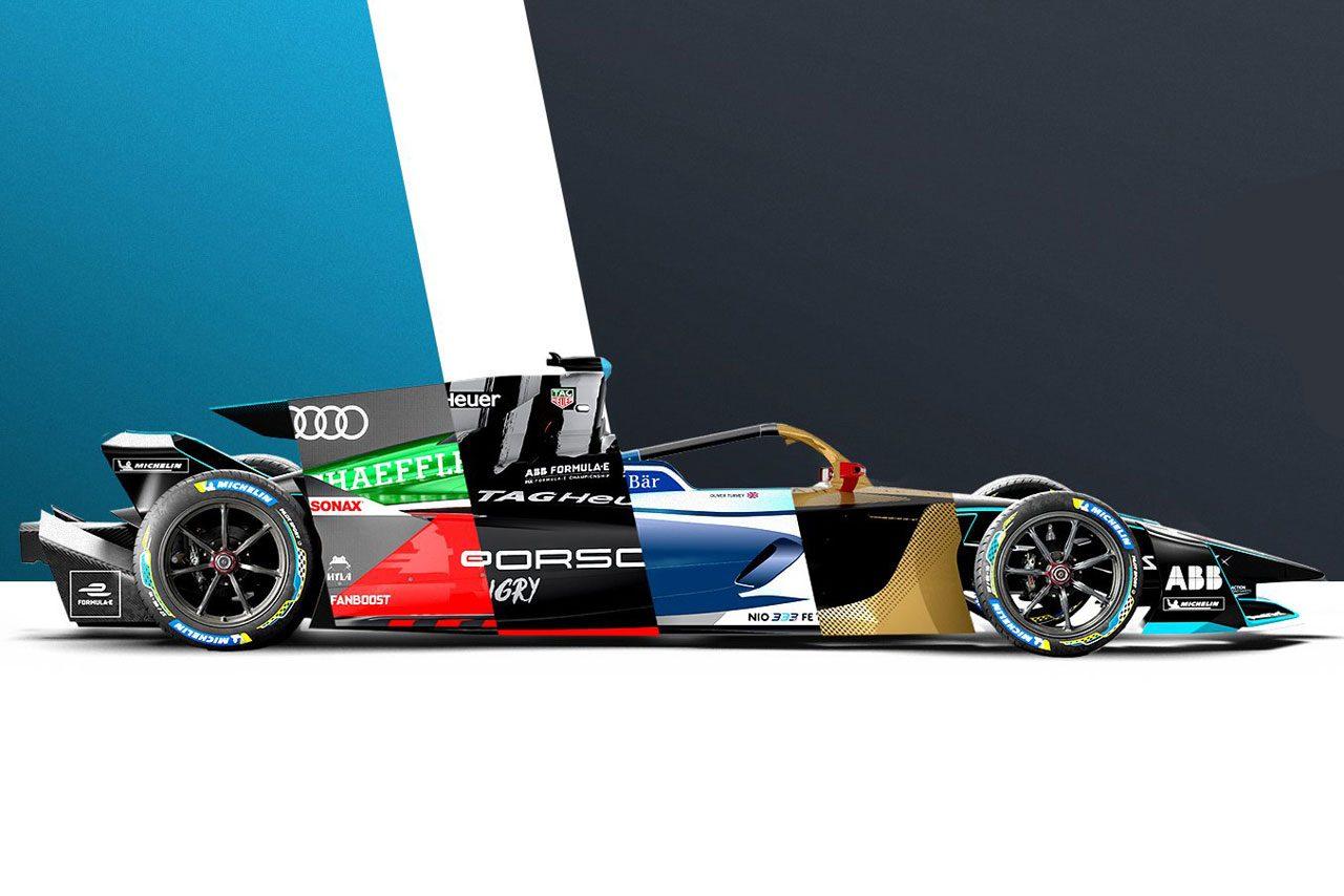 フォーミュラE:あなたはどのカラーが好み? 各チームがGen2 EVOのコンセプトリバリーを公開
