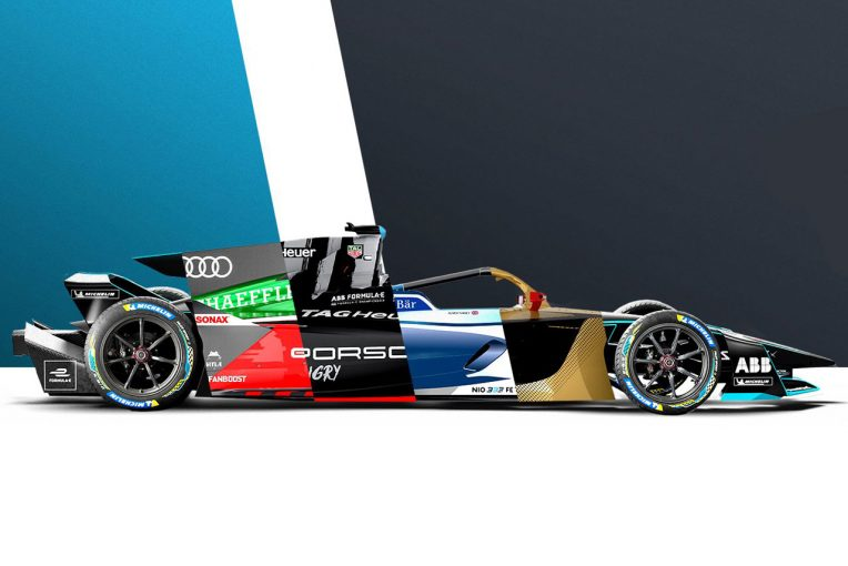 海外レース他 | フォーミュラE:あなたはどのカラーが好み? 各チームがGen2 EVOのコンセプトリバリーを公開