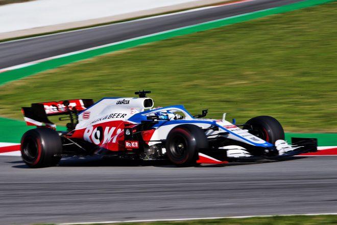 2020年F1バルセロナテストでのジョージ・ラッセル(ウイリアムズ)