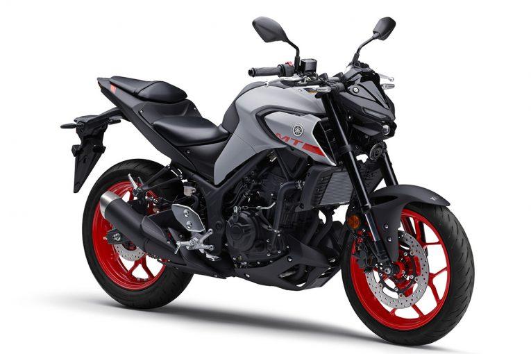 MotoGP   ヤマハ、2020年型スポーツバイク『MT-03 ABS/MT-25 ABS』は新デザインのフロント、タンクカバーを採用