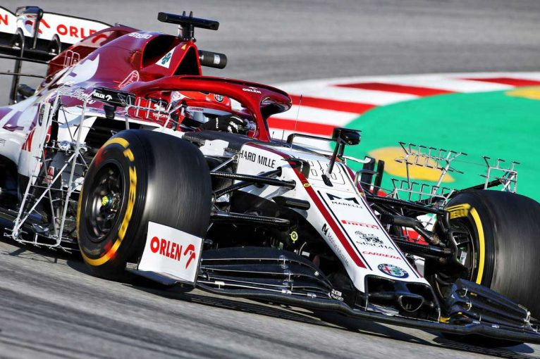 F1 | 【第2回F1バルセロナテスト1日目午前タイム結果】クビサがトップタイム。ホンダ勢はガスリーが2番手