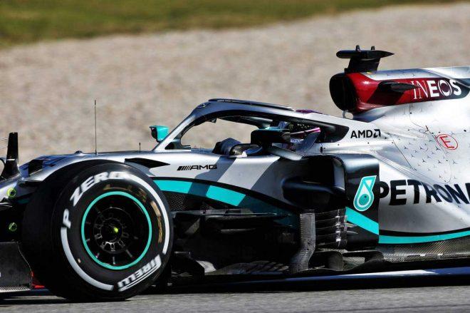 2020年F1第2回バルセロナテスト1日目 ルイス・ハミルトン(メルセデス)