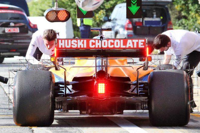 2020年F1第2回バルセロナテスト1日目 カルロス・サインツJr.(マクラーレン)