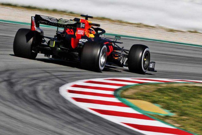 2020年F1第2回バルセロナテスト1日目 アレクサンダー・アルボン(レッドブル・ホンダ)
