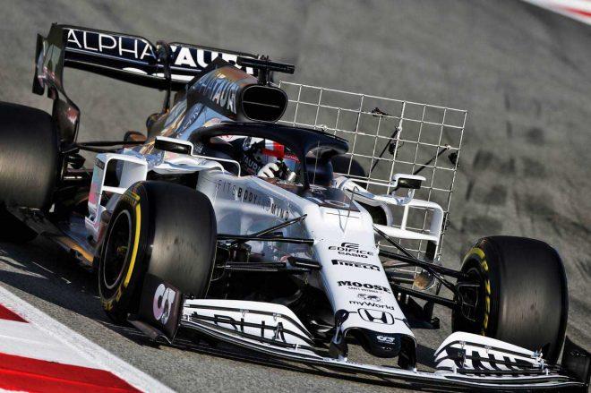 2020年F1第2回バルセロナテスト1日目 ピエール・ガスリー(アルファタウリ・ホンダ)