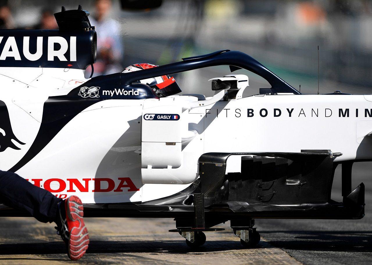 2020年第2回F1プレシーズンテスト1日目:ピエール・ガスリー(アルファタウリ・ホンダ)