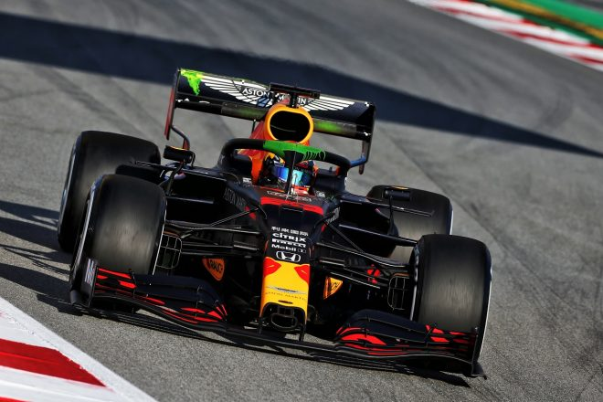 2020年第2回F1プレシーズンテスト1日目:アレクサンダー・アルボン(レッドブル・ホンダ)