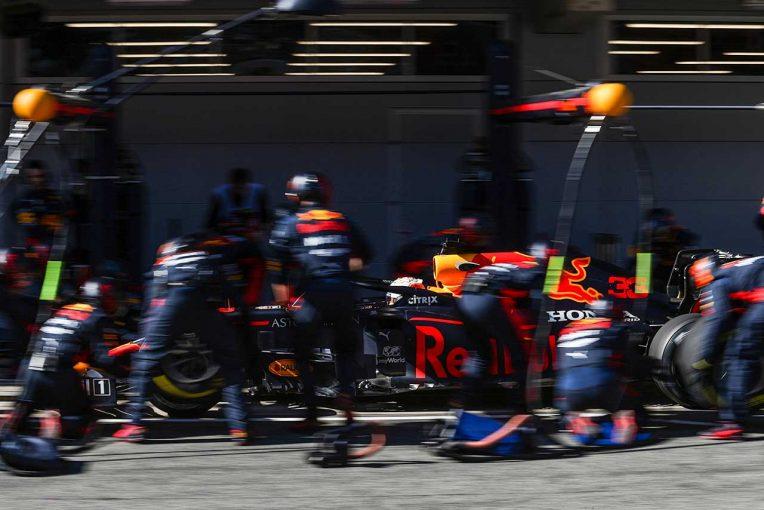 F1 | 【ホンダ密着】パワーユニットに大きな問題なく走行重ねるホンダ勢。田辺TD「ここからが山場」/第2回F1バルセロナテスト初日