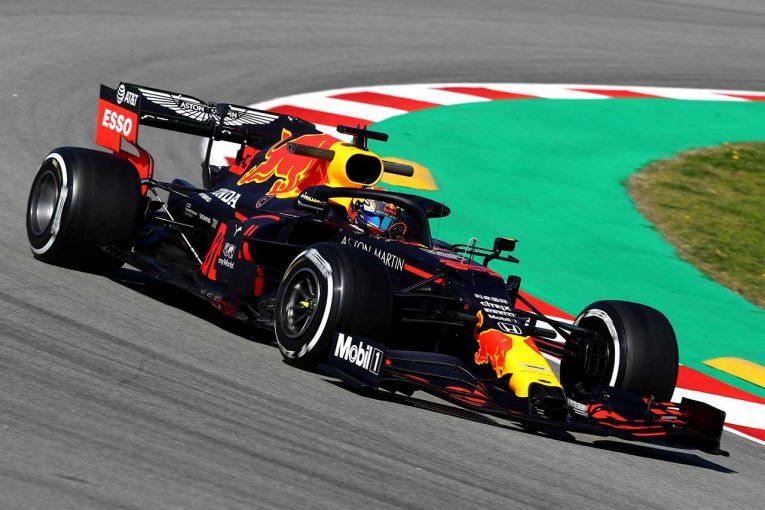 F1 | 【レッドブル密着】パフォーマンスを追求も不満が残る。空力面の弱点は未解決か/第2回F1バルセロナテスト初日