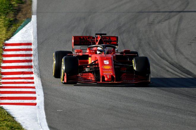 2020年第2回F1プレシーズンテスト1日目:セバスチャン・ベッテル(フェラーリ)