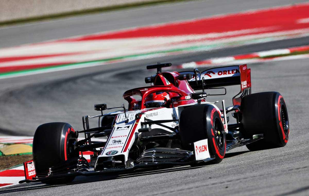2020年F1第2回バルセロナテスト1日目 ロバート・クビサ(アルファロメオ リザーブドライバー)