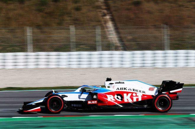2020年F1第2回バルセロナテスト1日目 ニコラス・ラティフィ(ウイリアムズ)
