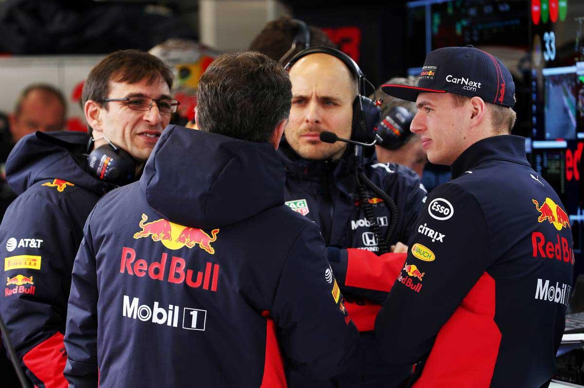 2020年F1第2回バルセロナテスト2日目 マックス・フェルスタッペン(レッドブル・ホンダ)