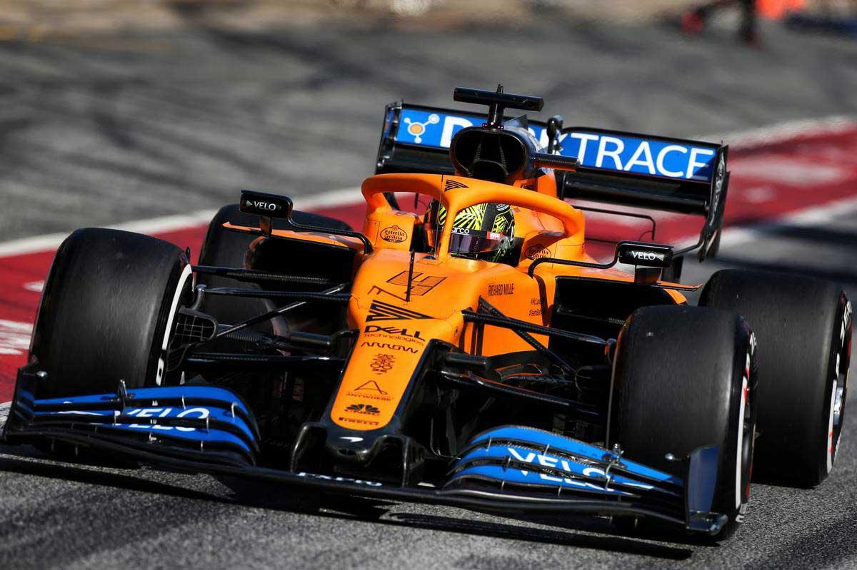 2020年F1第2回バルセロナテスト2日目 ランド・ノリス(マクラーレン)