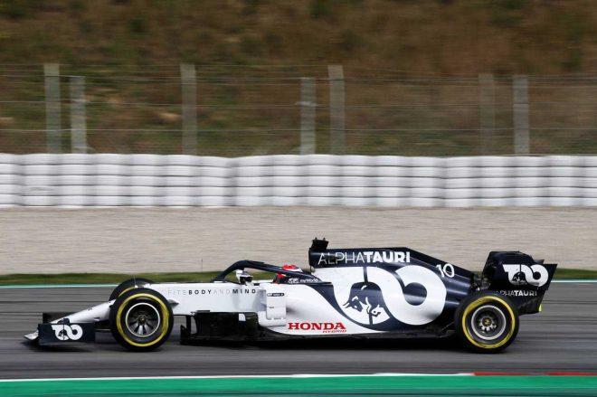 2020年F1第2回バルセロナテスト2日目 ピエール・ガスリー(アルファタウリ・ホンダ)