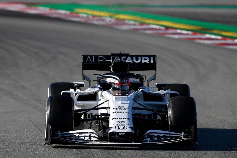 F1 | 【第2回F1テスト2日目・タイム結果】フェラーリ最速、アルファタウリ・ホンダが0.225秒差の2番手。メルセデスにトラブル