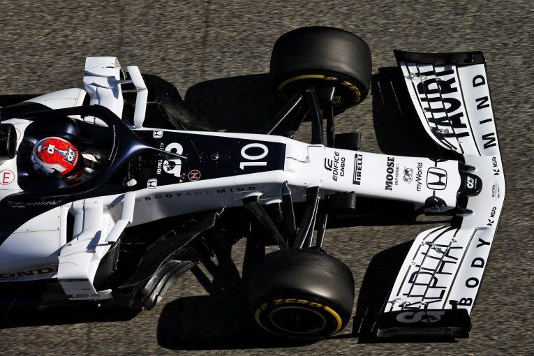 F1   ホンダ田辺TD「PUにとって有意義なデータを収集できた」ガスリーが139周を走り2番手タイム/F1第2回テスト2日目