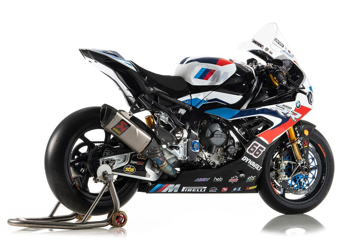 2020年SBKを走るBMW S1000RR(BMWモトラッド・ワールドSBKチーム)/トム・サイクス機