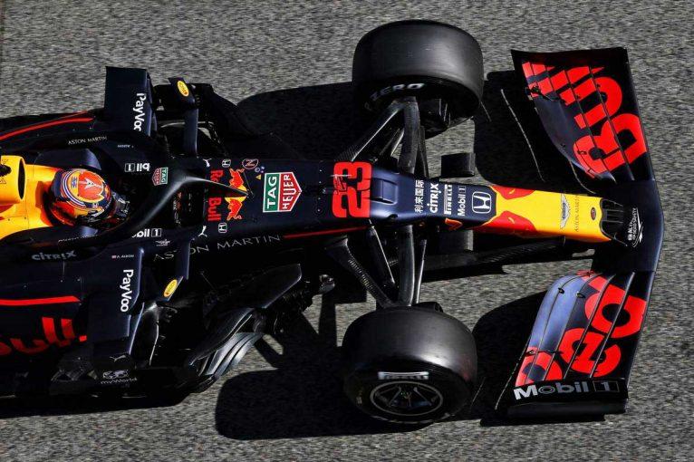F1 | 【レッドブル密着】開幕戦仕様の空力をテスト。強風の影響受けるも良好な手応え/第2回F1バルセロナテスト2日目