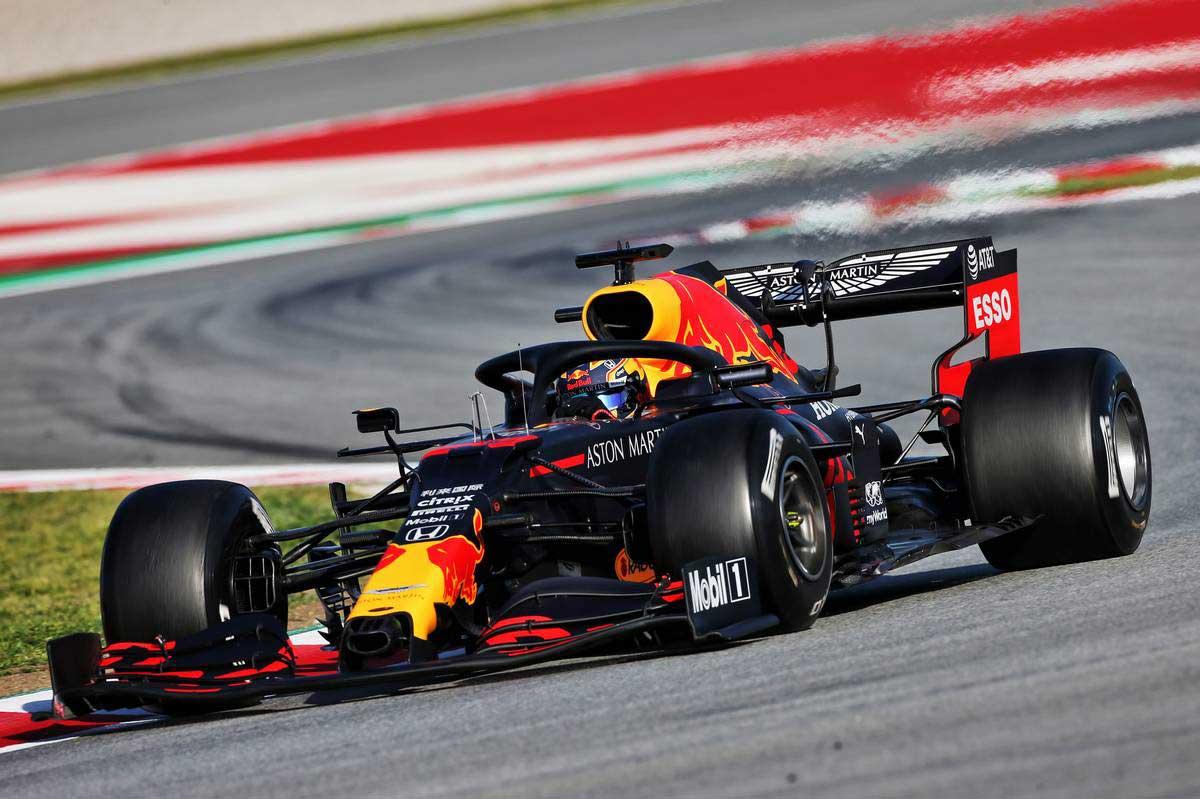 2020年F1第2回バルセロナテスト2日目 アレクサンダー・アルボン(レッドブル・ホンダ)