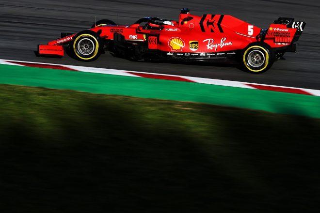 2020年第2回F1プレシーズンテスト2日目:セバスチャン・ベッテル(フェラーリ)