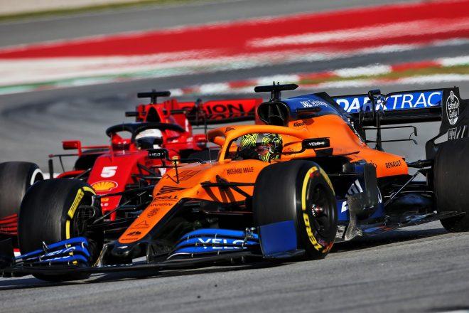 2020年第2回F1プレシーズンテスト2日目:ランド・ノリス(マクラーレン)