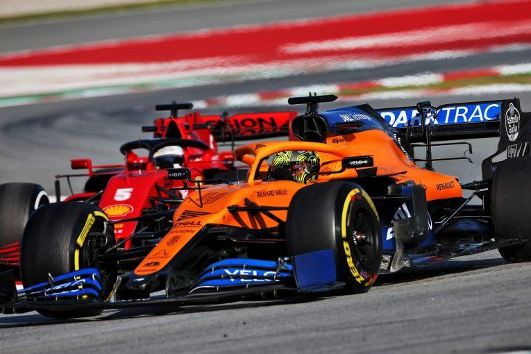 F1 | 「F1でのクラッシュの少なさは驚き」とノリス。現代マシンでの視野の狭さを解説
